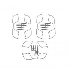 OEM 3 Pair of Propellers (12pcs) + 3 Pair of Guards (6pcs) for F16 Drone