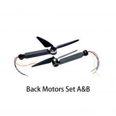 2PCS Back Side Motors Set (A & B) for DEERC DE22 OEM