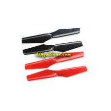 DRO-SFLY-01 Main Propellers x 4PCS Spare Parts for PNJ DRO-SUPER-FLY Super-fly Drone