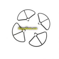 1 Pair of Black Propellers Guard for Potensic D80