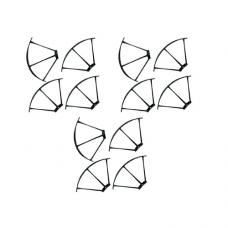 3 Pairs of Propellers Guards for SP510, 12PCS